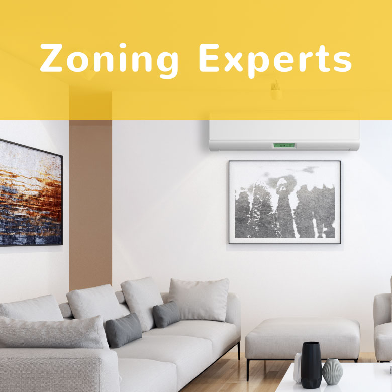 Enjoy more comfort control with precise zoning technologies!